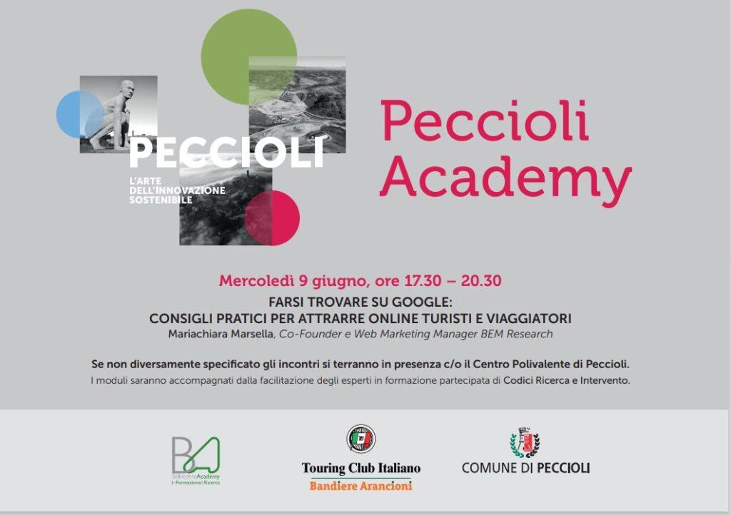 Locandina Peccioli Academy